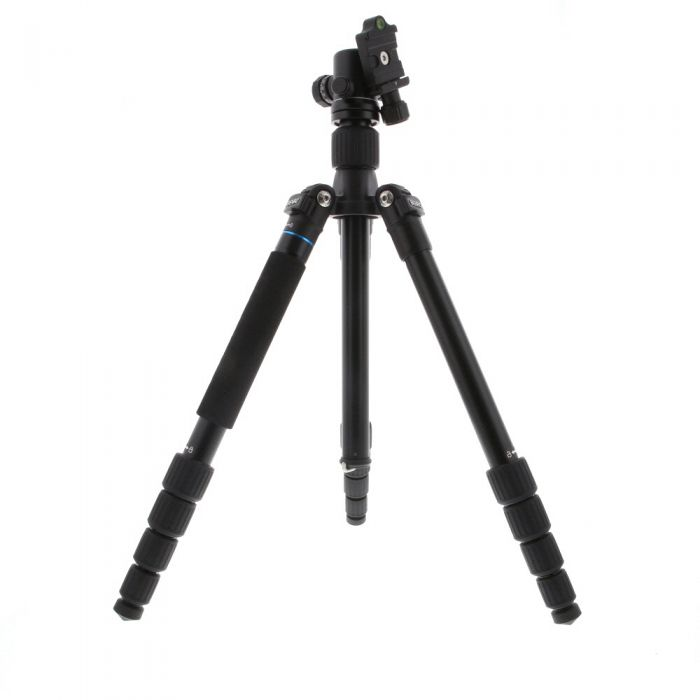 Benro A1692TB0 Travel Angel Tripod with B0 Ball Head, Black, 5-Section, 15.75-61.62 in.