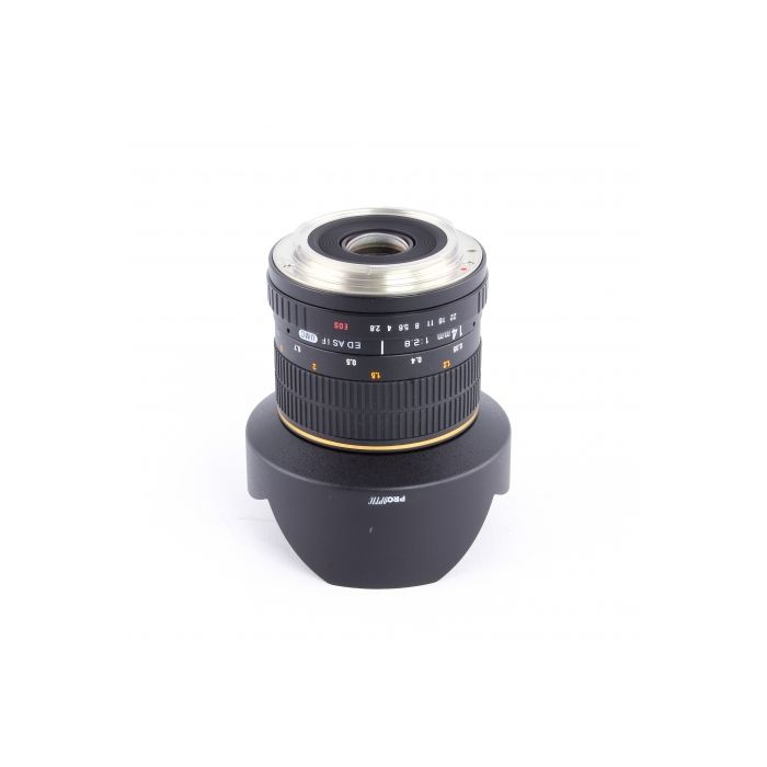 Pro Optic 14mm f/2.8 ED AS IF UMC Manual Focus Lens for Canon EF-Mount