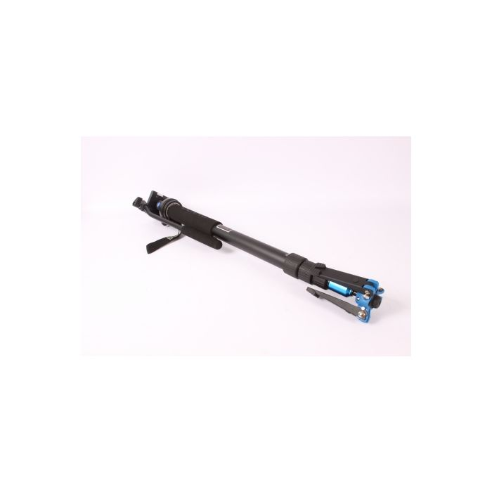 Benro A38TBS2 Video Monopod with S2 Head, 3-Section, 25.79-68.9 in.