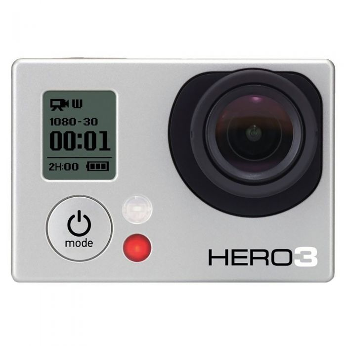 GoPro Hero 3 White Edition Digital Action Camera with Standard Housing, Quick Release Buckle {5MP} Waterproof to 131'
