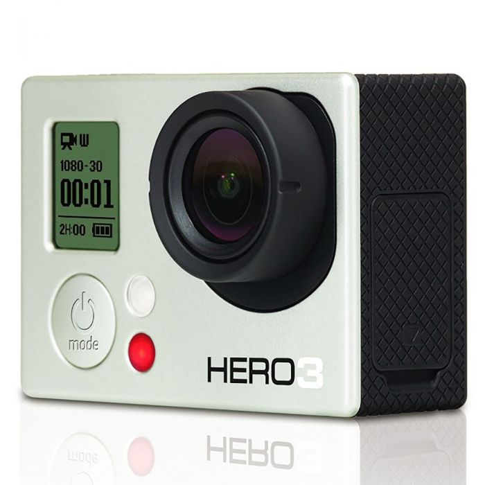 GoPro Hero 3 White Edition Digital Action Camera With Standard Housing (Waterproof to 131\'), Quick Release Buckle {5 M/P}