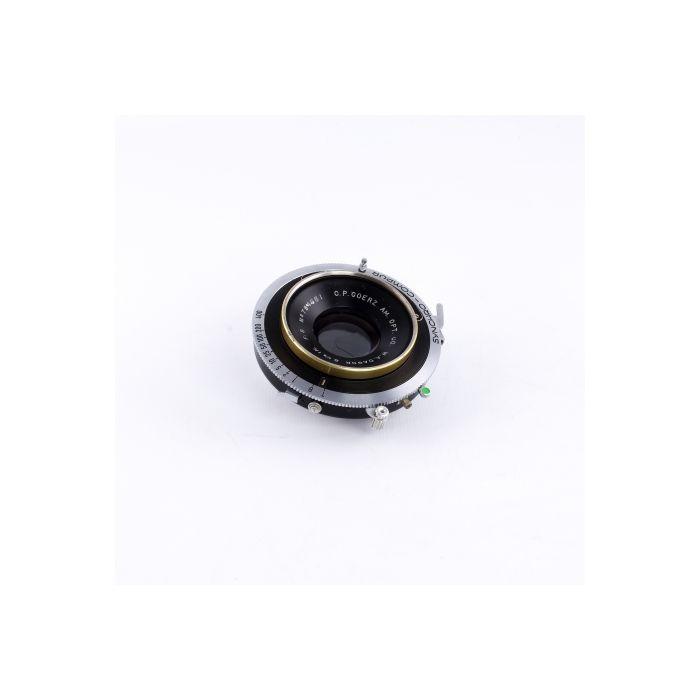 Goerz 6 1/2 in. (165mm) f/8 Gold Ring Dagor WA Synchro-Compur BT (46MT) 8x10 Lens