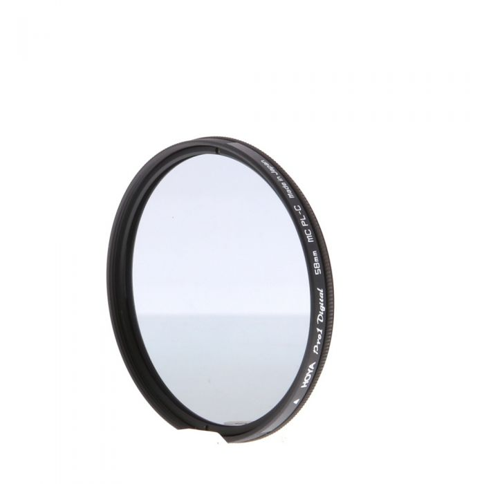 Hoya 58mm Circular Polarizing Pro 1 Digital MC Filter