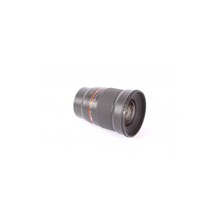 Samyang 16mm F/2 ED AS UMC CS Lens For Micro Four Thirds System {77}