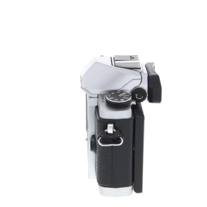 Olympus OM-D E-M10 Mirrorless Micro Four Thirds Digital Camera Body, Silver {16.1 MP}