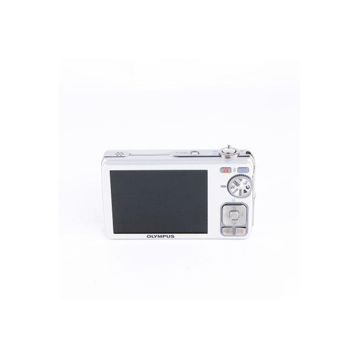 Olympus FE-350 Silver Digital Camera {8 M/P}
