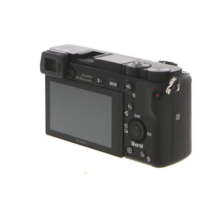 Sony Alpha a6000 Mirrorless Digital Camera Body, Black {24.3MP}