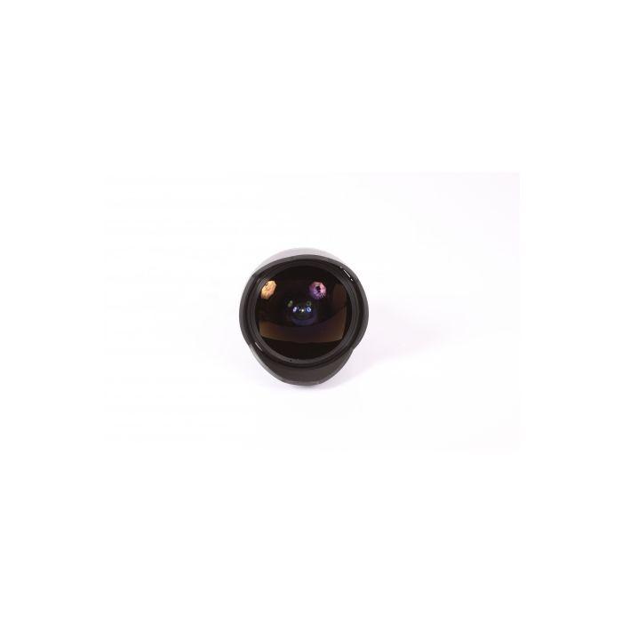 Samyang 8mm f/3.5 Fisheye UMC CS II Manual Focus, Manual Aperture Lens with Focus Confirmation Chip (CPU Contacts) for Nikon APS-C Sensor DSLR