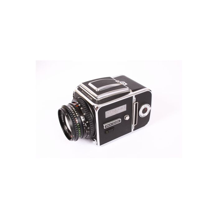 Hasselblad 500CM Classic 25TH Anniversary, 1949-1974, 80mm F/2.8, A12, Waist Level Finder , Box