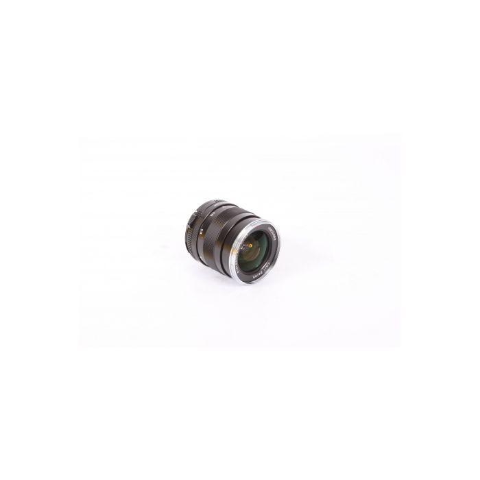 Zeiss 25mm f/2.8 Distagon ZS T* M42 Screw Mount Lens, Black {58}