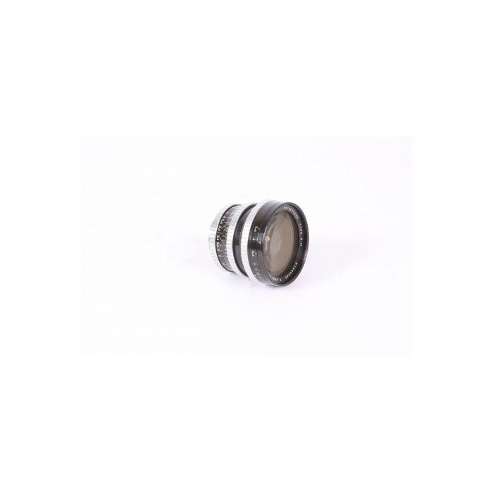 Angenieux 28mm f/3.5 Retrofocus Type R11 Preset M42 Screw Mount Lens, Black/Chrome