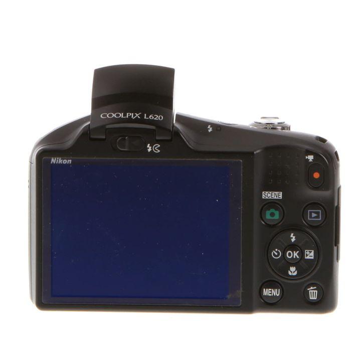Nikon Coolpix L620 Digital Camera, Black {18.1MP}