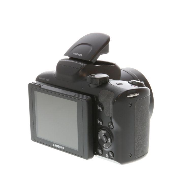 Samsung WB2100 Digital Camera, Black {16.4 M/P}