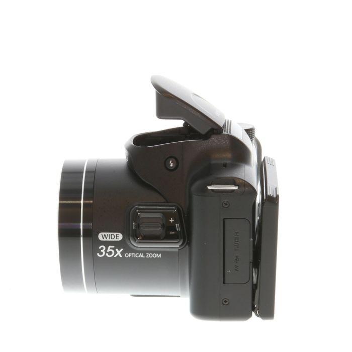 Samsung WB2100 Digital Camera, Black {16.4MP}
