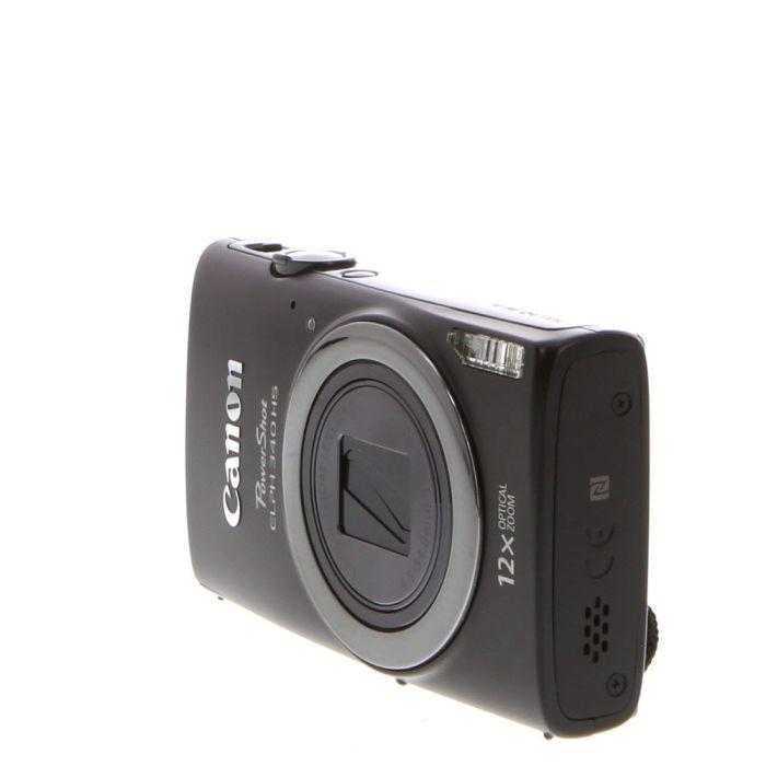 Canon Powershot ELPH 340HS Digital Camera, Black {16 M/P}