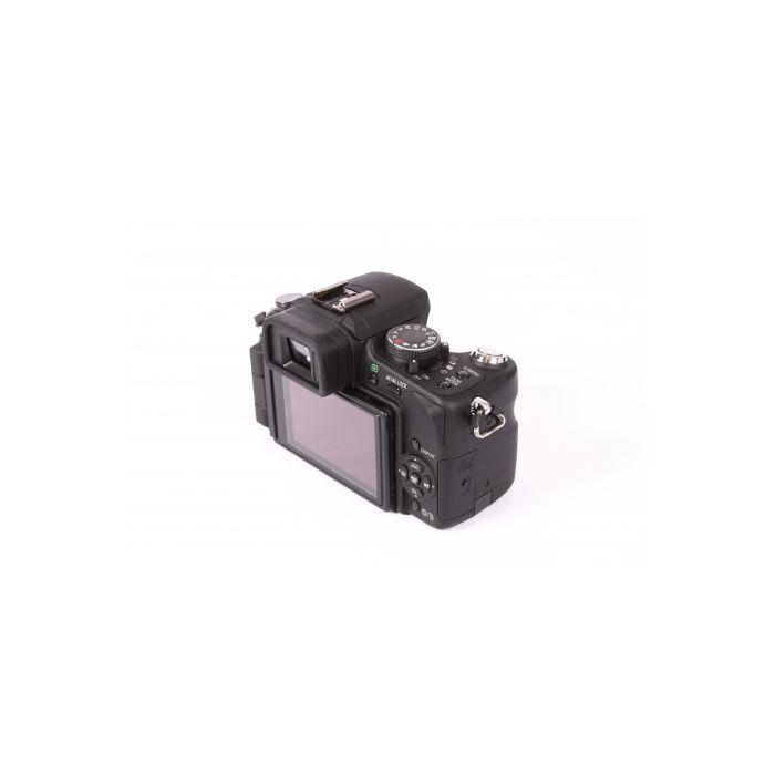 Panasonic Lumix DMC-G1 Digital Camera, Black, With 14-45mm F/3.5-5.6 G Vario Aspherical Mega O.I.S. Lens {12.1 M/P}[52]