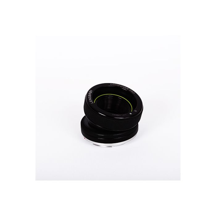 Lensbaby Composer Pro with Double Glass Optic for Canon EOS EF Mount