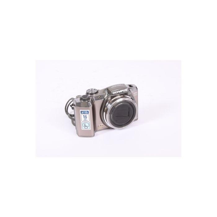 Olympus SZ-31MR IHS Silver Digital Camera {16 M/P}