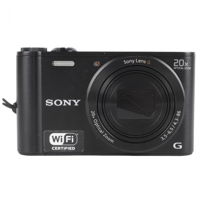 Sony Cyber-Shot DSC-WX300 Digital Camera, Black {18.2MP}