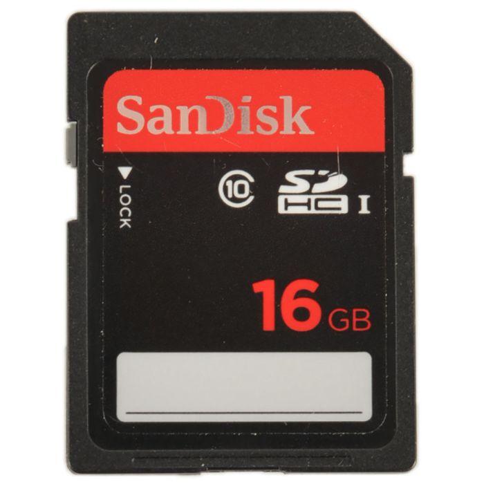 Sandisk 16GB I Class 10 SDHC Memory Card