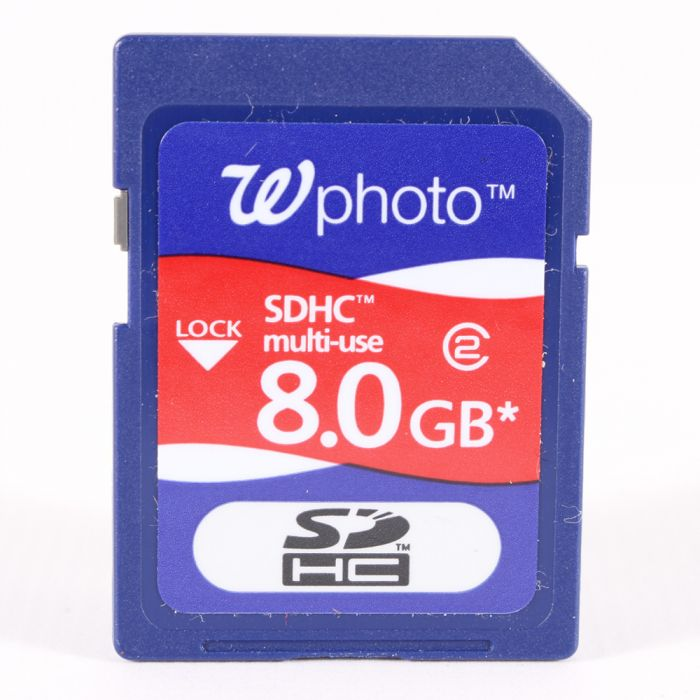 Miscellaneous Brand 8GB Class 2 SDHC Memory Card