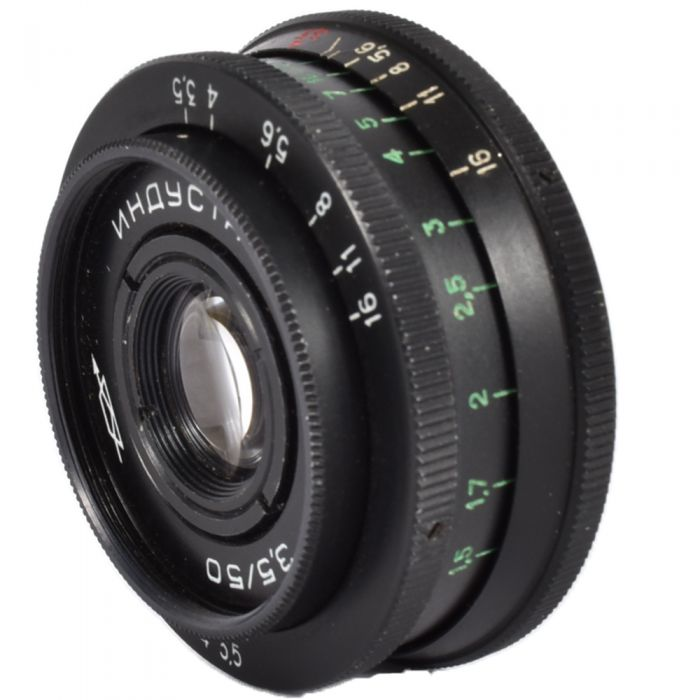 Zorki 50mm f/3.5 Industar-50-2 Manual Aperture Manual Focus Lens for M42 Screw Mount