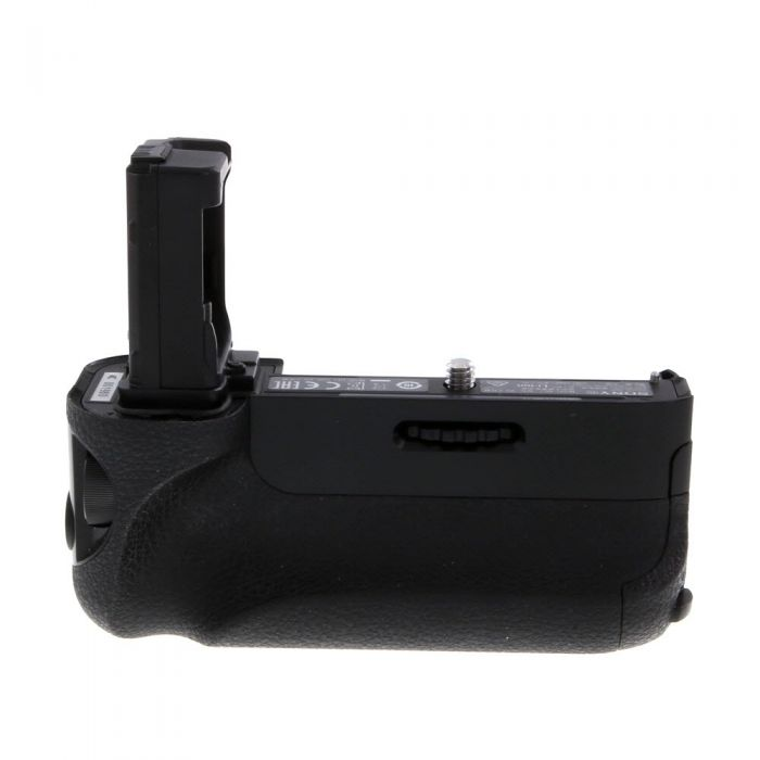 Sony VG-C1EM Vertical Battery Grip for Sony A7 / A7R / A7S Cameras, Black with Battery Tray