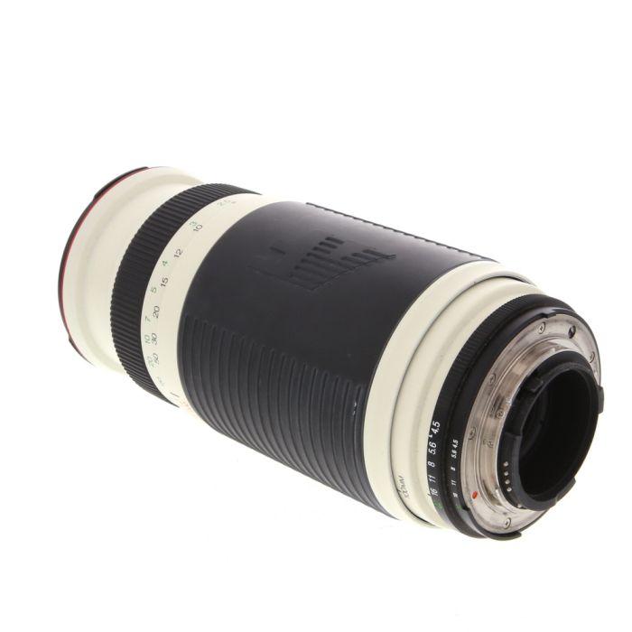 Promaster 100-400mm F/4.5-6.7 Spectrum 7 White Autofocus Lens For Nikon {67}