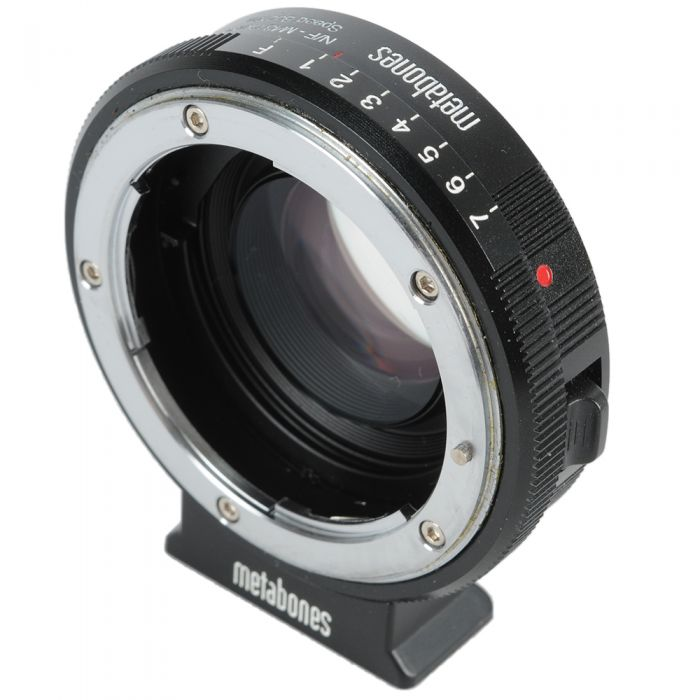Metabones Speed Booster Adapter Nikon G-Mount Lens to MFT (Micro Four Thirds) Body