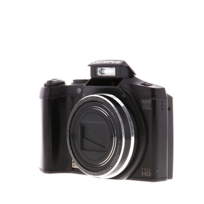 Olympus SZ-31MR IHS Black Digital Camera {16MP}