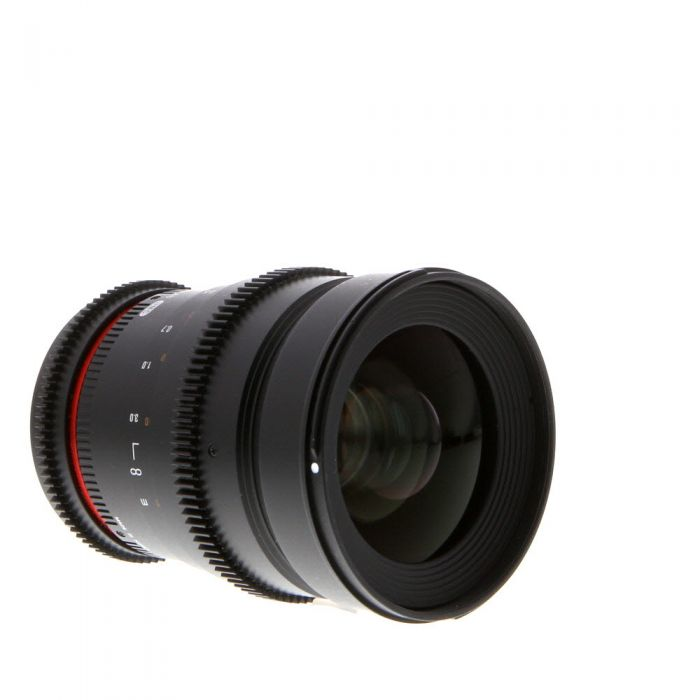 Rokinon Cine 35mm T1.5 AS UMC Manual Lens for Canon EF-Mount {77}