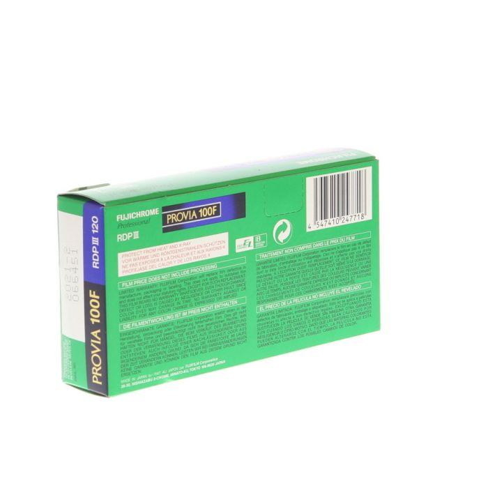 Fujifilm Fujichrome RDPIII 120 Provia 100F (ISO 100) Propack (5 Rolls) Color Positive Film, Medium Format