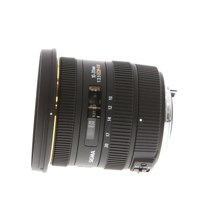 Sigma 10-20mm f/3.5 EX DC HSM K Mount Autofocus Lens for Pentax APS-C Sensor DSLR {82}