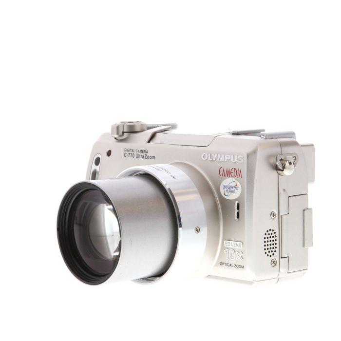 Olympus C-770 Ultra Zoom Digital Camera (Camera Only) {4 M/P}