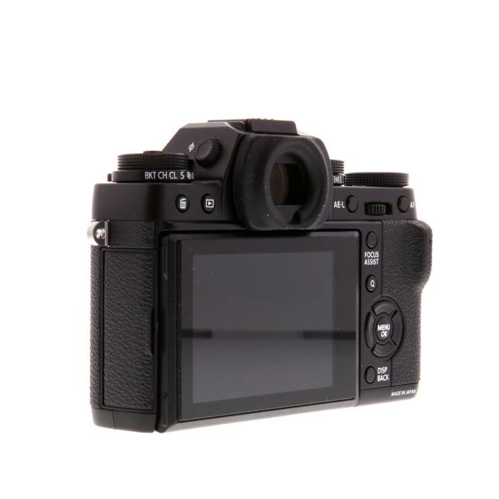 Fujifilm X-T1 Mirrorless Digital Camera Body, Black {16.3MP} With EF-X8 Flash