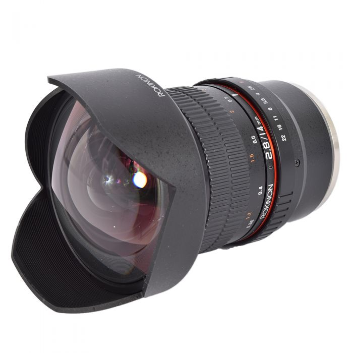 Rokinon 14mm f/2.8 ED AS IF UMC manual lens for Sony A-Mount