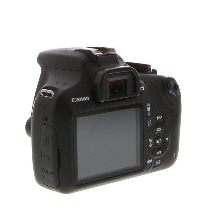 Canon EOS Rebel T5 Black Digital SLR Camera Body {18 M/P}