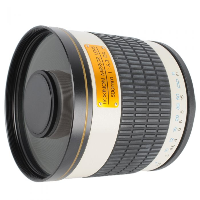 Rokinon 500mm f/6.3 DX Mirror Lens With T-Mount Adapter for Nikon {95}