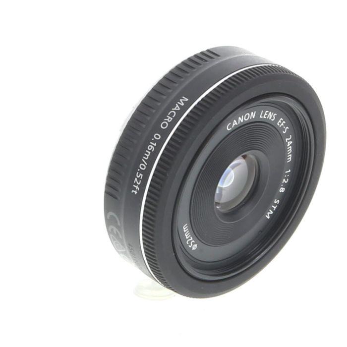 Canon EF-S 24mm f/2.8 STM Autofocus Lens for APS-C DSLR {52}