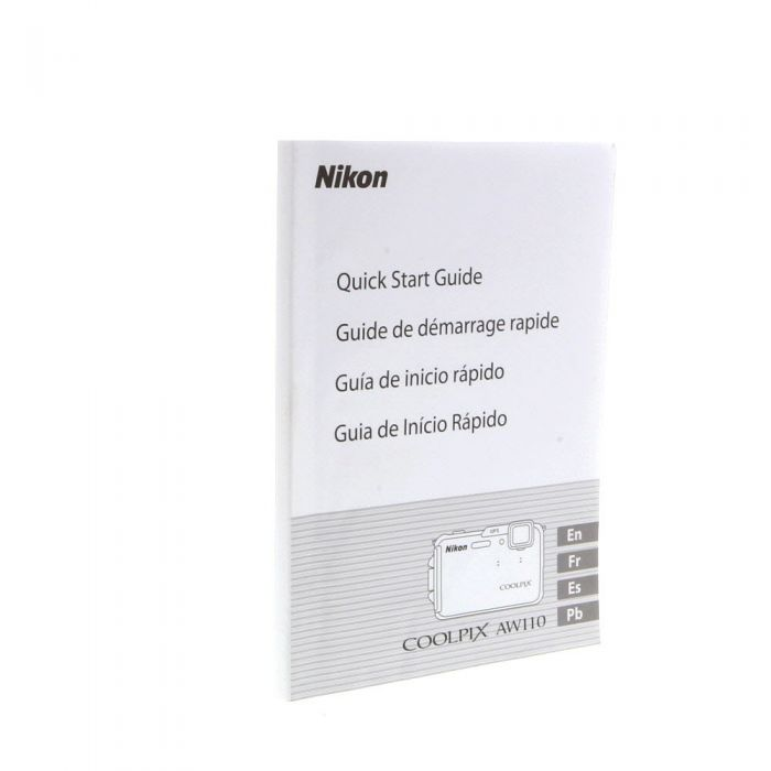 360Precision Nikon AW110 Instructions