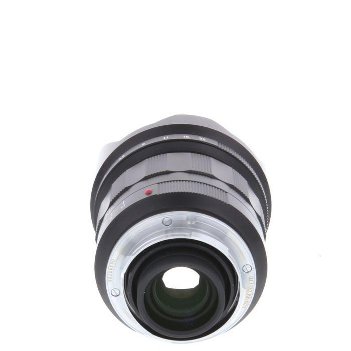 Voigtlander 21mm f/1.8 Ultron Aspherical Leica M-Mount Lens, Black {58}