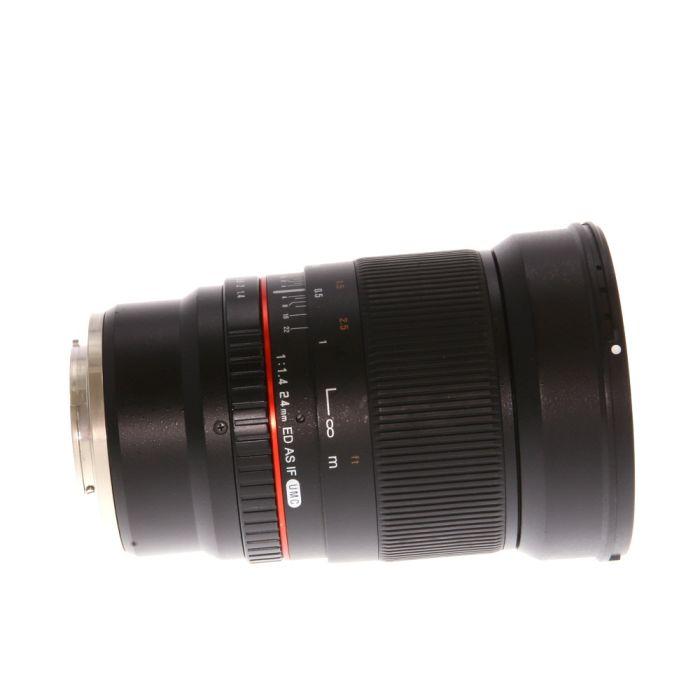 Rokinon 24mm f/1.4 ED AS IF UMC Manual Lens for Sony E-Mount {77}