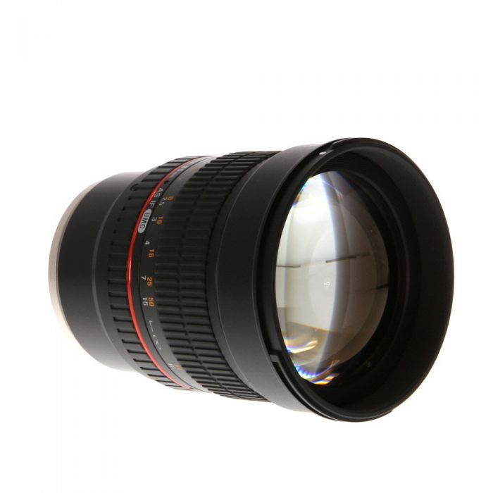 Rokinon 85mm f/1.4 AS IF UMC Manual Focus Lens for Sony E-Mount {72}