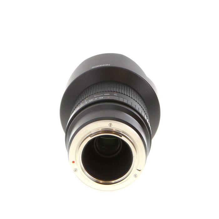 Rokinon 14mm f/2.8 ED AS IF UMC Manual Focus Lens for Sony E-Mount