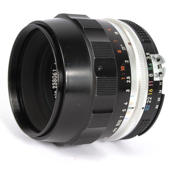 Nikon Nikkor 55mm f/3.5 Micro AI Compensating Nippon Kogaku NPK Manual Focus Lens {52}