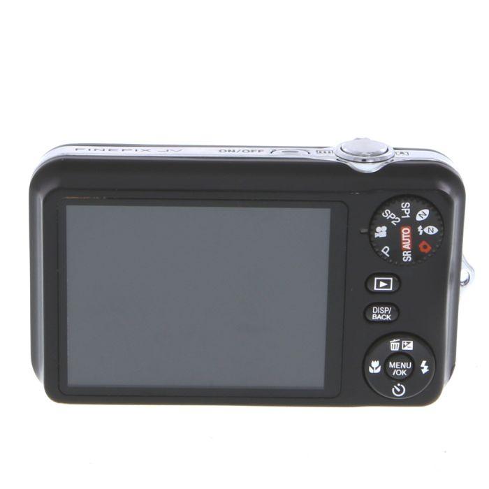 Fujifilm FinePix JV100 Digital Camera, Black {12 M/P}