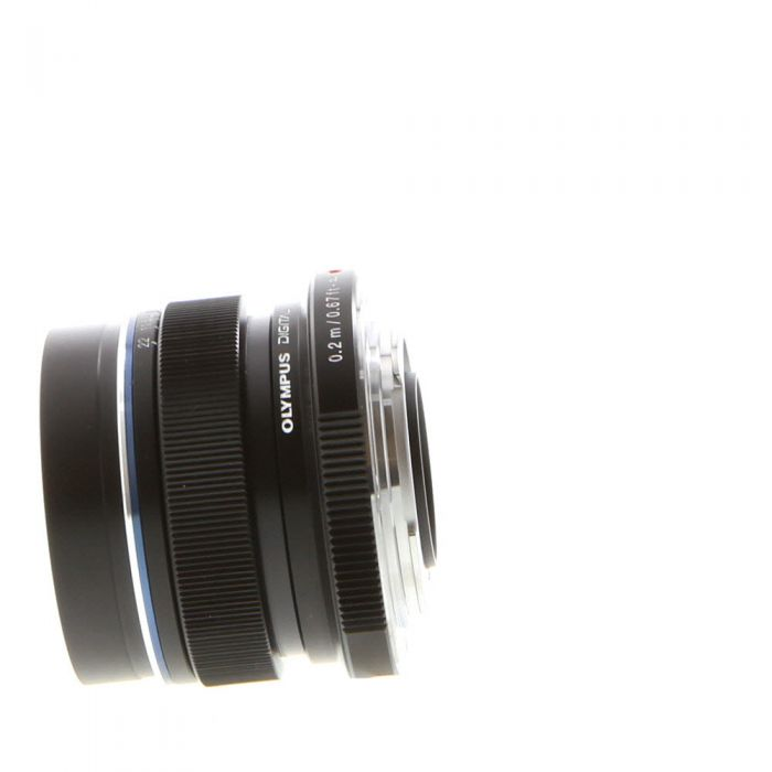 Olympus 12mm F/2 M.Zuiko ED MSC Black Autofocus Lens For Micro Four Thirds System {46}