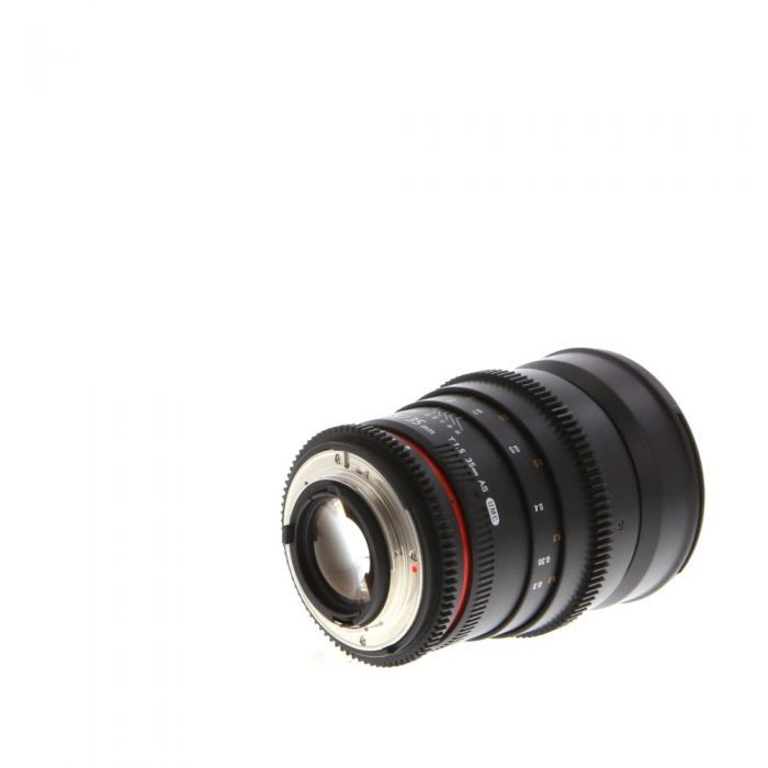 Rokinon Cine 35mm T1.5 AS UMC Manual Lens for Nikon