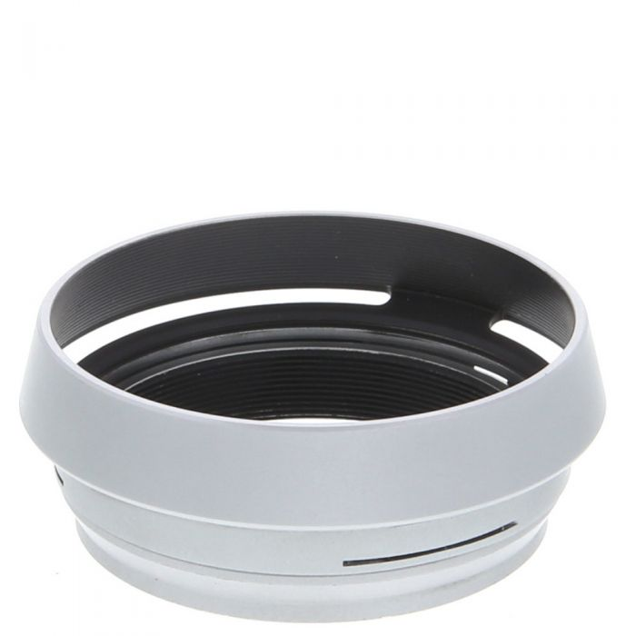 JJC Brand LH-JX100 Lens Hood for Fujifilm X100/100S/100T, Silver, With 49mm Adapter