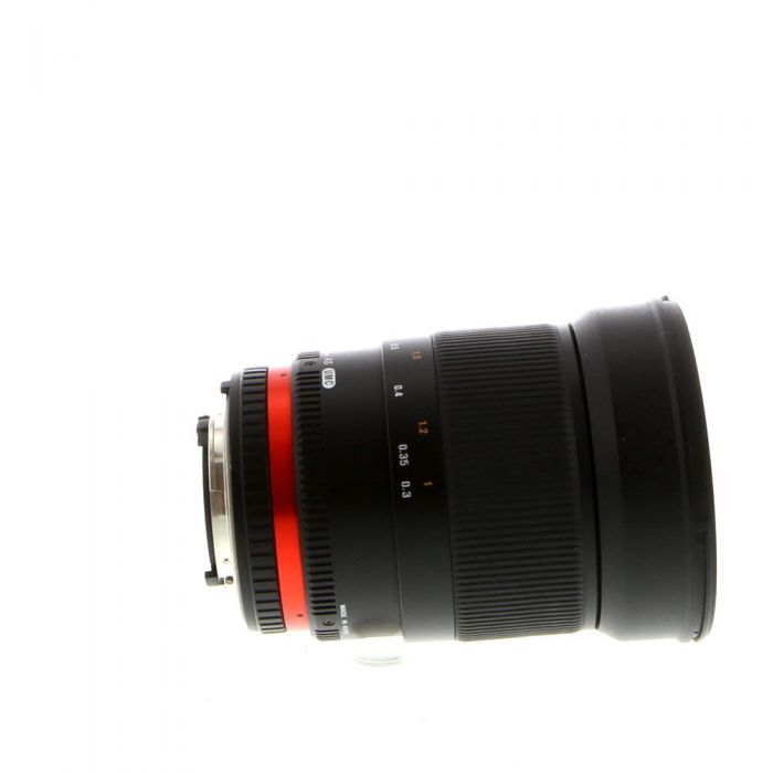 Rokinon 35mm F/1.4 AS UMC Manual Focus Lens For Nikon With Focus Confirmation Chip (CPU Contacts) {77}